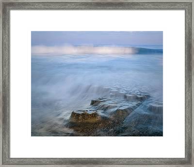 La Jolla High Tide Framed Print