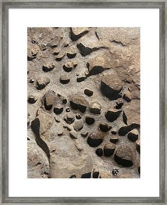 La Jolla Rocks Framed Print by Karyn Robinson