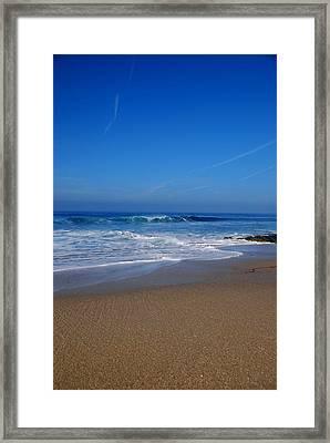 La Jolla Shores Framed Print by Kelly Wade