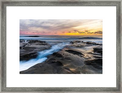 La Jolla Sunset Framed Print