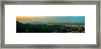 Framed Print featuring the photograph La La Land by Az Jackson