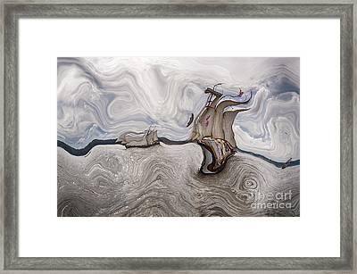 Le Vent Dans Les Voiles - 51o - Sea Boat Series Framed Print