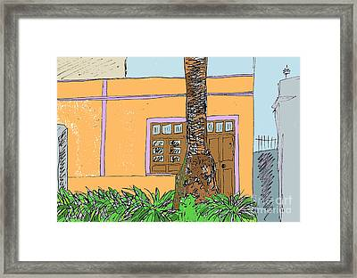 La Laguna Tenerife Framed Print