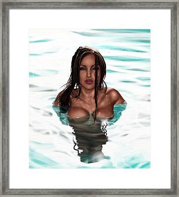 La Llorona Framed Print by Pete Tapang
