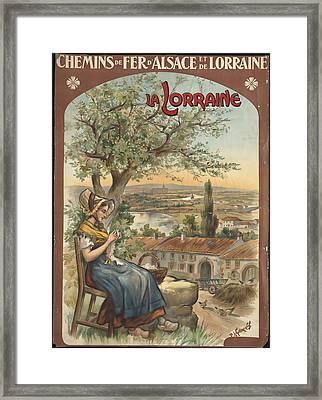La Lorraine Framed Print