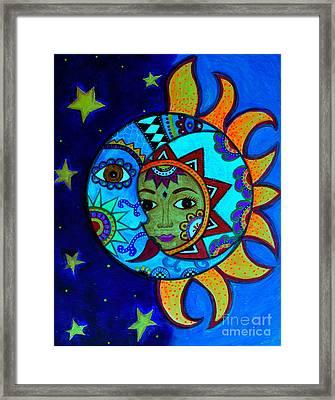 La Luna,el Sol Framed Print