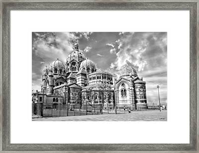 La Major 1,la Cathedrale De La Major Marseille,southern France  Photography, Jean Francois Gil, Jfgp Framed Print