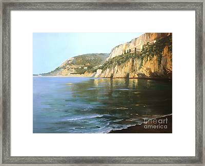 La Mala Framed Print by Lin Petershagen