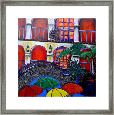 La Mansion Del Rio Framed Print by Patti Schermerhorn