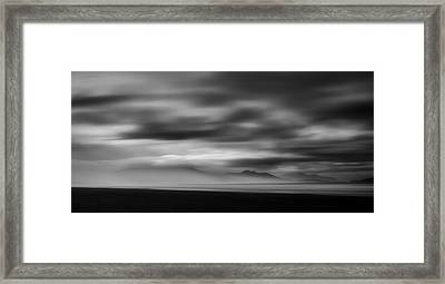 La Mer Framed Print by Mihai Florea