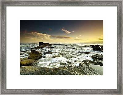 La Mer Framed Print