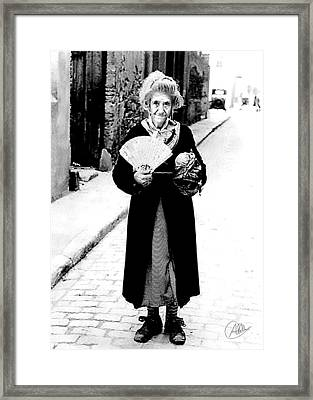 La Monyos From Barcelona Framed Print