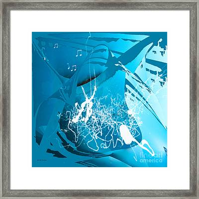 La Musica Framed Print by Gerlinde Keating - Galleria GK Keating Associates Inc