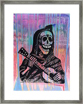 La Musica Framed Print by Randy Segura