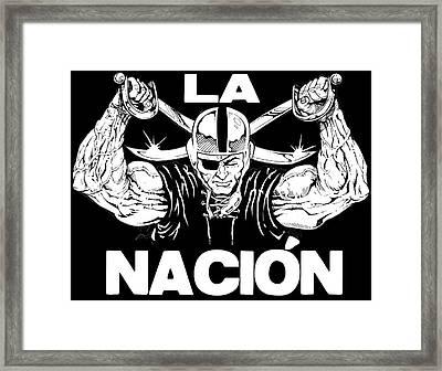 La Nacion Framed Print by Brian Child