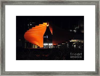 L.a. Nights Framed Print