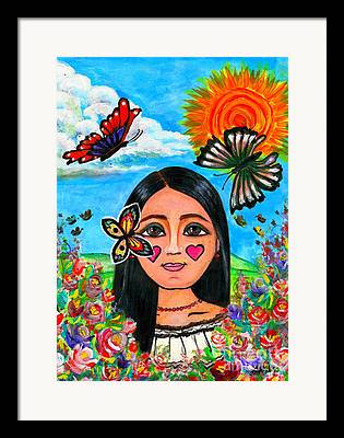 Mexicano Paintings Framed Prints