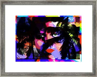 La Obsesion  Framed Print by Paul Sutcliffe