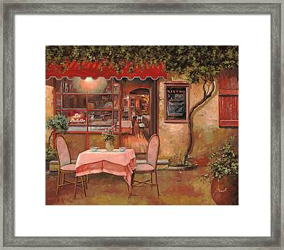 La Palette Framed Print by Guido Borelli