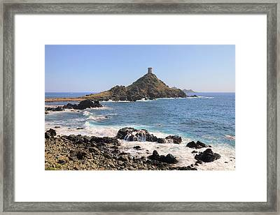 La Parata - Corsica Framed Print