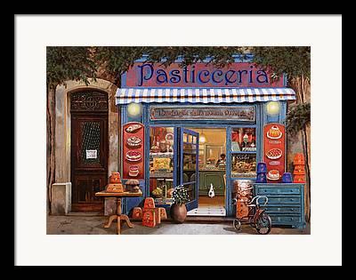 Shop Front Framed Prints