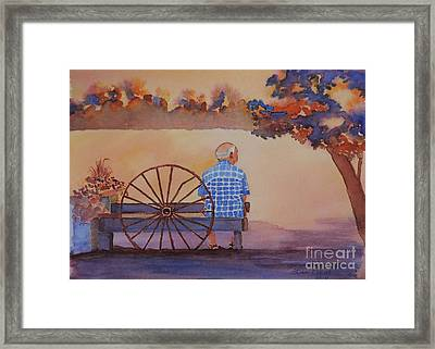 La Patience Framed Print