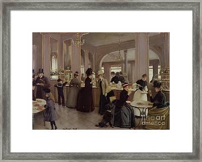La Patisserie Framed Print by Jean Beraud
