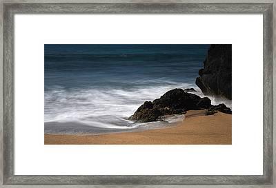 La Perouse Bay Beach Framed Print by Jennifer Ancker