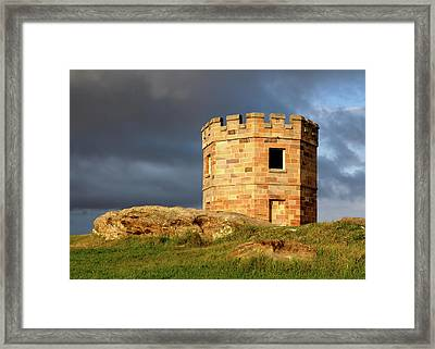 La Perouse Watch Tower Framed Print by Nicholas Blackwell