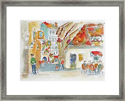 La Petite France Strasbourg Framed Print