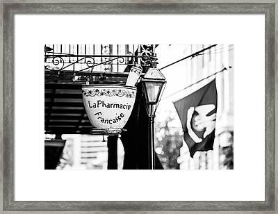 La Pharmacie Francaise Framed Print by Scott Pellegrin