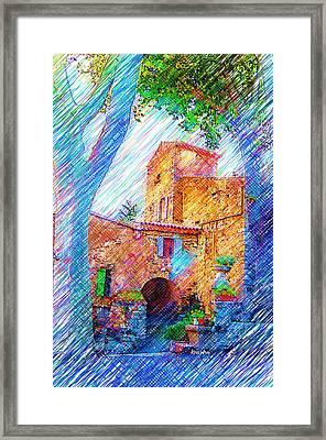 La Place De Palairac Framed Print by Kris Woo