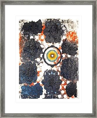 La Pleureuse  Framed Print by Howard Goldberg