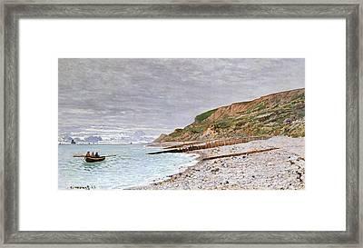 La Pointe De La Heve Framed Print by Claude Monet