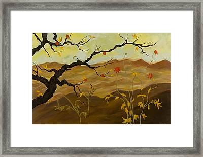 La Pomme Rouge Framed Print