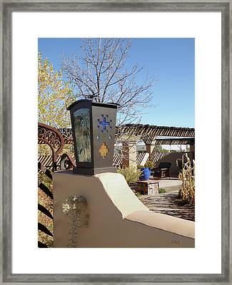 La Posada Accents Framed Print