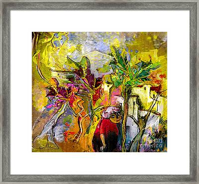 La Provence 05 Framed Print by Miki De Goodaboom
