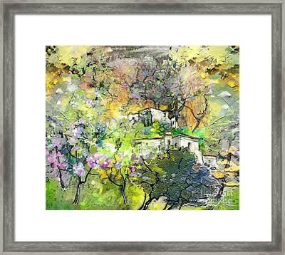 La Provence 07 Framed Print by Miki De Goodaboom