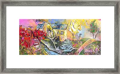 La Provence 11 Framed Print by Miki De Goodaboom