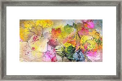 La Provence 12 Framed Print by Miki De Goodaboom