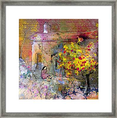 La Provence 13 Framed Print by Miki De Goodaboom