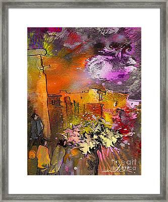 La Provence 14 Framed Print by Miki De Goodaboom