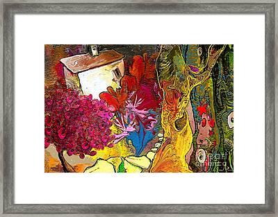 La Provence 15 Framed Print by Miki De Goodaboom