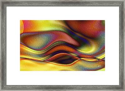 La Puesta Del Sol Framed Print
