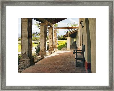 La Purisima Long View Framed Print