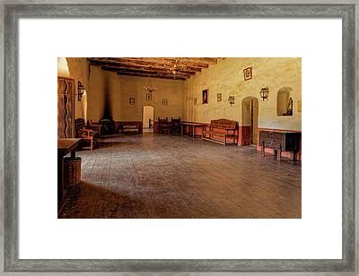 La Purisima Main Room Framed Print by Thomas Hall