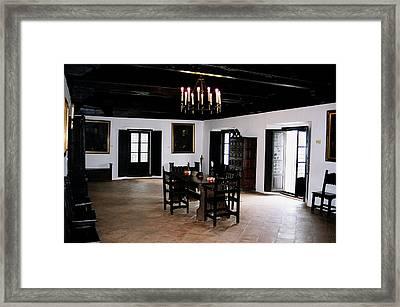 La Rabida Monasterio - Huelva Framed Print