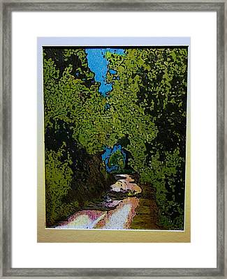 La Romita Road Framed Print by Tom Herrin