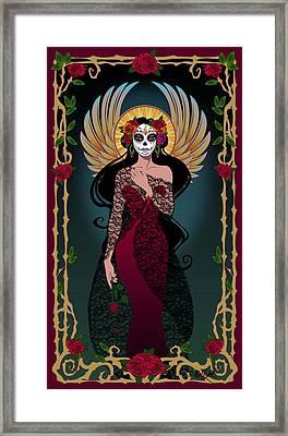 La Rosa Framed Print by Cristina McAllister
