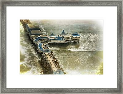 Framed Print featuring the photograph La Rosa Nautica - Peru by Mary Machare